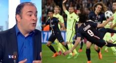 """PSG-Barcelone : """"Surtout au milieu de terrain que le PSG a sombré"""""""
