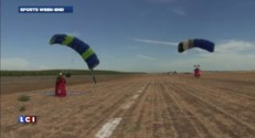 "Spectaculaire course de ""Wingsuit"" en Californie"