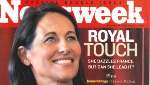 TF1/LCI La couverture de Newsweek avec Ségolène Royal