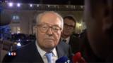 """Marine Le Pen absente ? Son père prédit la """"fin"""" de Sarkozy"""