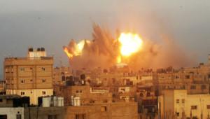 gaza frappes aériennes israéliennes