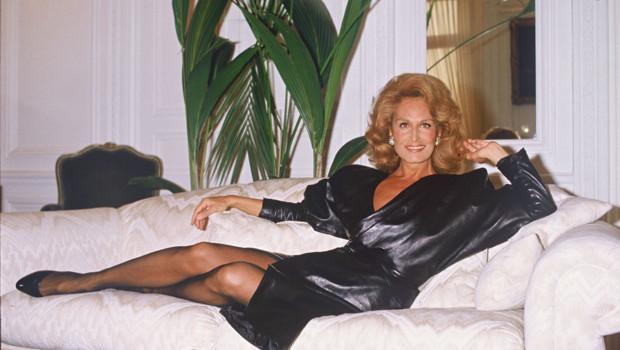 La chanteuse et comédienne Dalida