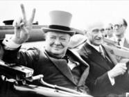 Le 13 heures du 24 janvier 2015 : Winston Churchill : qui était l'homme derrière le chef d'Etat ? - 881.811