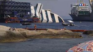 Le 13 heures du 8 juillet 2013 : Costa Concordia : l%u2019�ve souvenir - 875.9239999999998