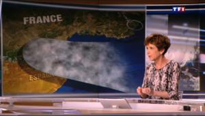 """Le 20 heures du 17 novembre 2013 : Alerte aux inondations : il pourrait tomber """"autant d%u2019eau en une nuit qu%u2019en trois mois"""" - 734.7860000000001"""