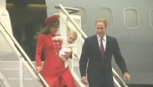 Baby Geroge en Nouvelle-Zélande.