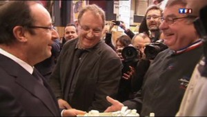 François Hollande a inauguré samedi matin le salon de l'Agriculture
