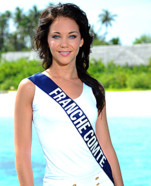 Miss France Comte 2010 - Sabrina Halm - Election candidate Miss France 2011- © SIPA - Interdit à toute reproduction, téléchargement ou stockage