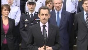 Nicolas Sarkozy à Dammarie-lès-Lys (18 mars 2010)
