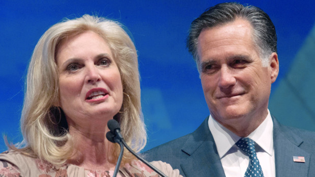 Ann Romney et Mitt Romney, le 13 avril 2012,  Saint-Louis