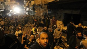 Beyrouth double attentat suicide explosion Hezbollah