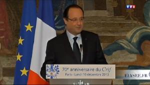 Le 13 heures du 22 décembre 2013 : Bourde de Fran�s Hollande : l'Alg�e veut des excuses - 272.2860238647461