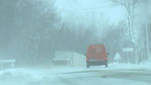neige intempéries routes