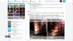 New-York : un passager du train raconte la collision sur Twitter