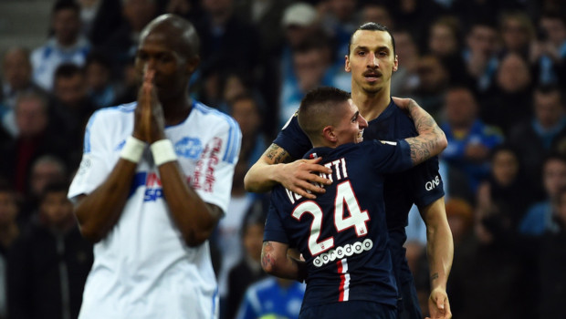 OM PSG Zlatan Ibrahimovic