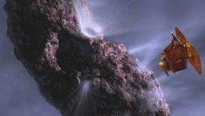 Deep impact comète Tempel 1 NASA sonde