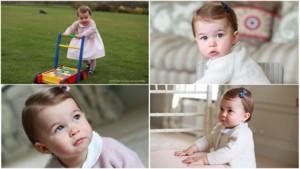 Le Kensigton Palace a dévoilé des photos de la princesse Charlotte, le 01/05/16