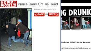 Prince Harry News Of The World