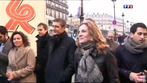 Le 13 heures du 22 décembre 2013 : Paris : NKM doit faire face �a col� du centre et de Beigbeder - 370.08756146240233