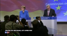 """Pour Merkel, """"la France est en bonne voie"""" dans son processus de réformes"""
