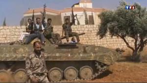Des membres de l'opposition syrienne.