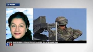 """Hollande en Afghanistan, un voyage """"pour marquer les esprits"""""""