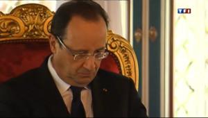 Le 20 heures du 3 avril 2013 : L'affaire Cahuzac suit Hollande au Maroc - 1543.1981171875