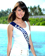 Miss Languedoc 2010 - Jenna Sylvestre - Election candidate Miss France 2011- © SIPA - Interdit à toute reproduction, téléchargement ou stockage