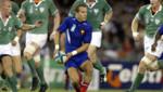 Rugby : Frédéric Michalak lors du quart de finale France-Irlande, Coupe du monde 2003