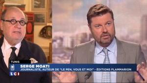 """Serge Moati : Jean-Marie et Marine Le Pen, """"deux histoires politiques différentes"""""""