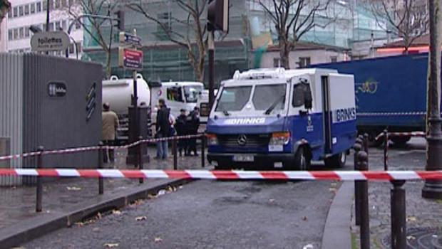 Un fourgon braqué porte de Bagnolet, le 29 novembre 2007