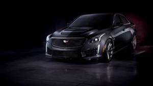 La troisième génération de la Cadillac CTS-V, équipée d'un V8 de 649 ch pour aller chasser les BMW M5 et autres Mercedes E63 AMG.