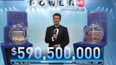 Etats-Unis : tirage du Powerball le 18/5/13, avec un gain de 590 millions de dollars