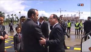 Le 20 heures du 3 avril 2013 : L'affaire Cahuzac suit Hollande au Maroc - 1490.9274902343748