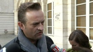 Mickaël Wamen, responsable CGT de l'usine Amiens Nord de Goodyear, le 23 octobre 2013.
