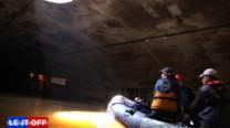 passage du tunnel canal st martin en zodiac