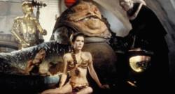Carrie Fisher dans Le Retour du Jedi