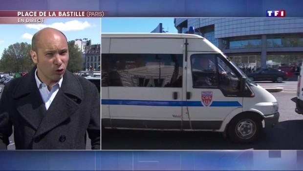"""Défilés du 1er mai : les 7.000 policiers déployés ont reçu """"des consignes très fermes"""""""