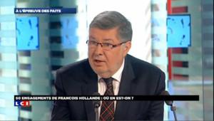 """Fiscalité: l'option TVA sociale """"totalement écartée"""", selon Vidalies"""