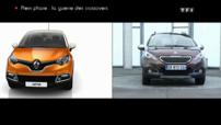 Peugeot 2008 Renault Captur Sujet Plein Phare Automoto 2013