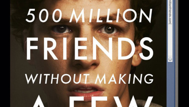Affiche US The Social Network