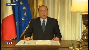 """Berlusconi dénonce """"une condamnation dénuée de tout fondement"""""""