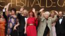 Montée des marches Festival de Cannes 21 mai Sabine Azéma, Alain Resnais, Anny Duperey, Denis Podalydès, Anne Consigny, Pierre Arditi
