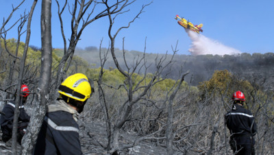 Les incendies en Corse