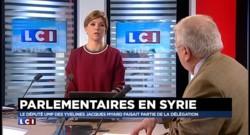 Myard estime avoir contribué à la libération d'un prisonnier après son voyage en Syrie
