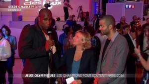 Paris 2024: Teddy Riner et Tony Parker en porte-parole