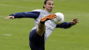 Zlatan Ibramovic, à l'entraînement, le 7/8/8.