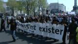 """Les """"oubliés de la République"""" défilent à Paris"""