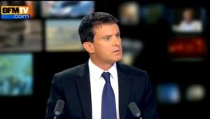 Manuel Valls sur BFM TV