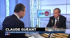 """Renvoyé en correctionnelle, Guéant estime qu'on """"essaie de viser Sarkozy"""" à travers lui"""